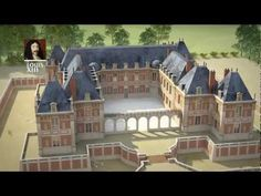 Versailles, de Louis XIII à la Révolution - fabulous 3D reconstruction of the transformation of Versailles from the time of Louis XIII to the beginning of the reign of Louis XVI. The video is in French, but even if you don't know the language, the visuals are well worth it.