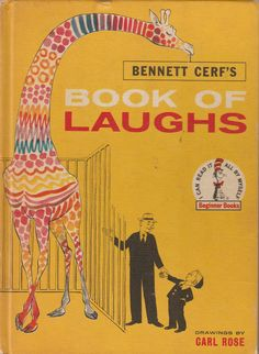 Bennett Cerf's Book of Laughs 1959 Vintage I Can Read It All By Myself Beginner Books by BirdhouseBooks on Etsy Bennett Cerf, People Doing Stupid Things, Kinds Of Kisses, What's My Line, Mark Twain Quotes, Beginner Books, Barnyard Animals, Romance Quotes, Book Corners