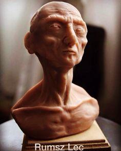 Sin títutlo - Rumsz Lec Sculpture. Skulpey. 12x9x9 cm  https://www.facebook.com/Rumsz-Lec-159574767726505/