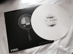 Not sure whether to go for the white edition, or the half black / half white one. #Pvris #Vinyl #WhiteNoise