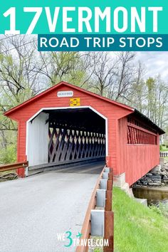 Follow this 3-day Vermont road trip itinerary for the perfect family vacation or New England girls' trip. Don't miss these stops at waterfalls, covered bridges, maple syrup shops, and dairy farms along these scenic byways. Rv Travel, Family Travel, Travel Destinations, Road Trip With Kids, Family Road Trips, New England Travel, Road Trip Hacks, Vermont, Travel Inspiration