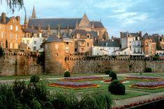 Les remparts de Vannes, France
