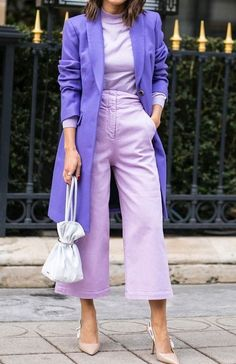 Winter Fashion Outfits, Look Fashion, Spring Summer Fashion, Spring Outfits, Womens Fashion, Colorful Fashion, Colourful Outfits, Classy Outfits, Casual Outfits