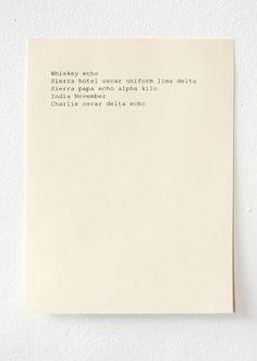 arpeggia:    Janine Polak - We Should Speak in Code(2009)