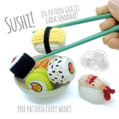 Crochet Cat Pattern, Crochet Amigurumi Free Patterns, Granny Square Crochet Pattern, Crochet Cross, Crochet Fruit, Crochet Food, Kawaii Crochet, Cute Crochet, Diy Accessoires