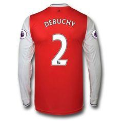 Arsenal 16-17 Mathieu Debuchy 2 Hjemmebanetrøje Langærmet.  http://www.fodboldsports.com/arsenal-16-17-mathieu-debuchy-2-hjemmebanetroje-langermet.  #fodboldtrøjer