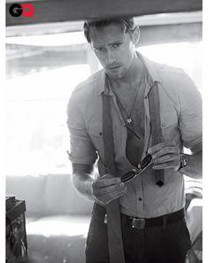 Alexander Skarsgard - GQ June 2011--um, Christian Grey?