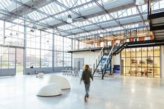 Completed in 2016 in Rotterdam, The Netherlands. Images by Willem de Kam. Dating from 1937, the derelict building, a former glass factory located near the Rotterdam harbour and 10 minutes from the Erasmusbrug, was about to...
