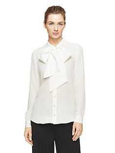 bow blouse - kate spade new york