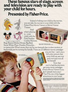 Turn a handle: Fisher-Price Movie Viewer toys (1973-1974)