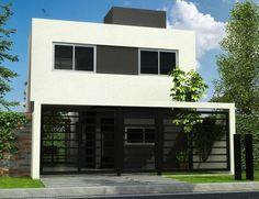 1000 images about modelos casas on pinterest small for Modelo casa clasica 2 dormitorios procrear