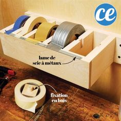 Here are some brilliantly clever garage organization tips! Clean up all the junk in your garage with these unique and creative ideas! Never misplace anything in your garage again with these guide to the perfect storage space. Garage Organization Tips, Diy Garage Storage, Storage Hacks, Garage Shelving, Organizing Tips, Craft Storage, Art Studio Storage, Clever Storage Ideas, Cleaning Tips