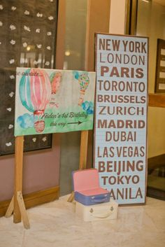 Aiden's World Traveler Themed Party - 1st Birthday - Party Doll Manila