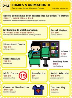 214 Learn Korean Hangul Comics and Animation 2