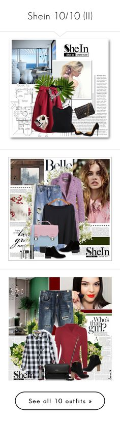 """""""Shein 10/10 (II)"""" by mell-2405 ❤ liked on Polyvore featuring shein, Bobbi Brown Cosmetics, Casetify, women's clothing, women's fashion, women, female, woman, misses and juniors"""