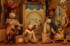 private collection from the collection of ahmed al-thani Dollhouse Toys, Dollhouse Miniatures, Antique Toys, Vintage Toys, Plush Horse, Bear Shop, Storybook Cottage, Vintage Teddy Bears, Love Bear