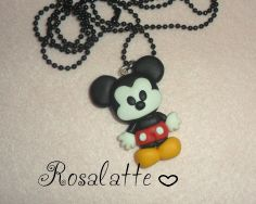 Mickey Mouse necklace favors