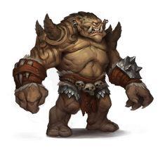 ArtStation - Warlords of Draenor Ogron Concept, Ryan Metcalf
