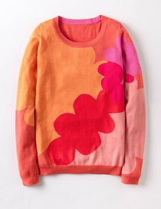 I've spotted this @BodenClothing Frieda Sweater Pink