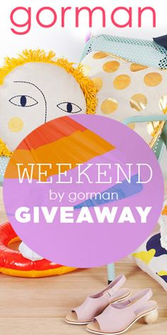Win $2,000 worth of summer accessories from Weekend by Gorman! #competition #giveaway