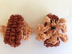 Rainbow Loom HEDGEHOG. Designed and loomed by Cheryl Spinelli at Looming WithCheryl. Click photo for YouTube tutorial. 05/22/14.