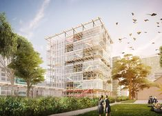 Grimshaw unveils plans for high-rise school complex on Sydney's outskirts