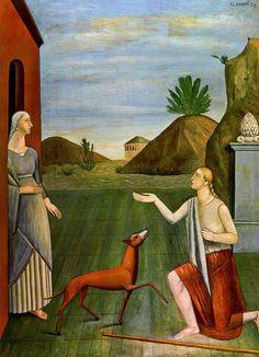 """""""Fissa il tuo cane negli occhi e tenta ancora di affermare che non ha un'anima."""" -V. Hugo- #art by Carra' #nartioggi"""