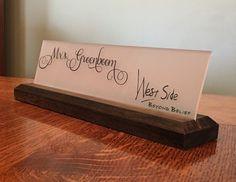 15 best teacher name plates images diy frame bricolage frames rh pinterest com