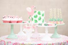 """Flamingos are all the rage. Is it because they're pink? Tropical? Who knows but we're officially declaring them the """"it bird"""" of 2015. And while I'm well past my second year of life, it isn't stopping me from snagging cute details for my very own Flamingle party. Colorful and summery is just the beginning of […]"""