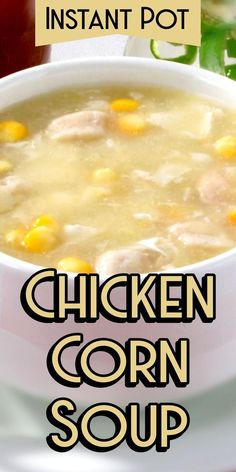 Instant Pot Chicken Corn Soup | Pressure Cooker Chicken Corn Soup | Slow Cooker Chicken And Corn Soup | Homemade Chicken And Corn Soup | Chicken And Sweet Corn Soup Recipe | Easy Chicken And Corn Soup From Scratch | Crockpot Chicken Corn Soup | Creamy Chicken Soup | Chinese Corn Soup Recipe #soup #recipe #instantpot #corriecooks