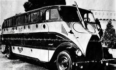 The Success of the 1928 Nite Coach (on a Pierce Arrow chassis) prompted the introduction of a similar 53-passenger day coach, the Pick...