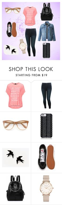 """Look diario"" by amiritha on Polyvore featuring Replace, M&Co, Wildfox, Savannah Hayes, Vans, ROSEFIELD and LE3NO"