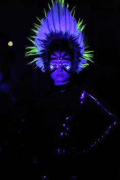 Charlie Le Mindu Goes Fluorescent - Slideshow - WWD.com