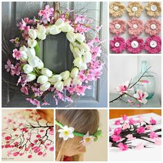 Over 25 Blossom Crafts for Spring