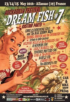 Dream Fish #7 13-14-15 May 2016 Allassac (France)
