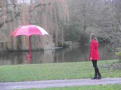 rode-paraplu