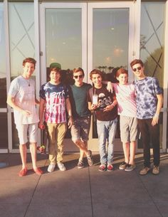 Ricky, Jc, Connor, Sam, Trevor, and Kian ❤ O2l