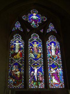 East Window, Frankton. My old village church!!!