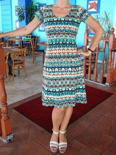 Fit and Flare Free Dress Pattern | AllFreeSewing.com