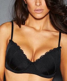 e091ca1bbaf Black Dallas Boost Balconette Bra