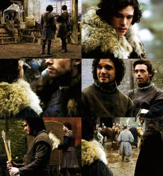 Game of Thrones - Jon Snow and Robb Stark