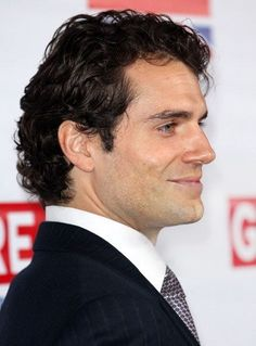 Henry Cavill...that smile!