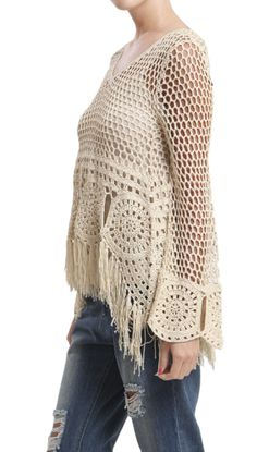 http://myisshoes.com/products/copy-of-crochet-fringe-sweater-natural?utm_campaign=Pinterest Buy Button