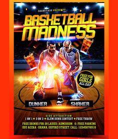 High Quality Basketball Flyer