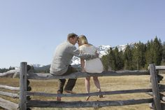 Lake Tahoe engagement photos by Events Ink