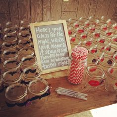 Favors for the couples shower!