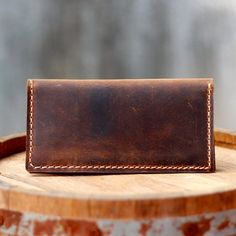 Leather Iphone 5 Wallet / Clutch / Purse / Women's by JooJoobs, $55.00 - Handmade Leather Wallets - Handmade Leather Goods
