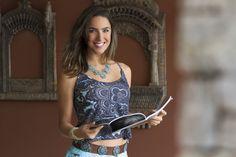 Making Of: Preview Verão 2014 Marcia Mello. #moda #fashion #estampas #maxicolar #colar #acessorios #verao #marciamello #pulseiras #sorriso
