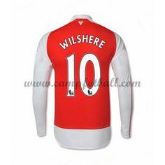 Arsenal Fotballdrakter 2016-17 Wilshere 10 Hjemmedrakt Langermet