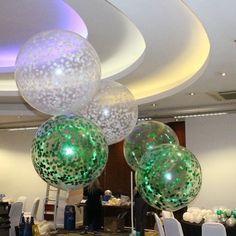 Adding the WOW factor with these stunning display of confetti balloons Balloon Columns, Balloon Wall, Balloon Arch, Balloon Garland, Balloon Decorations, Printed Balloons, Confetti Balloons, Helium Balloons, Latex Balloons